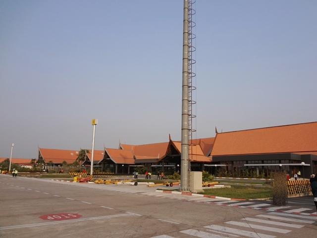 カンボジアのシェムリアップ空港