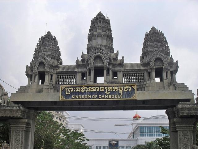カンボジア国境