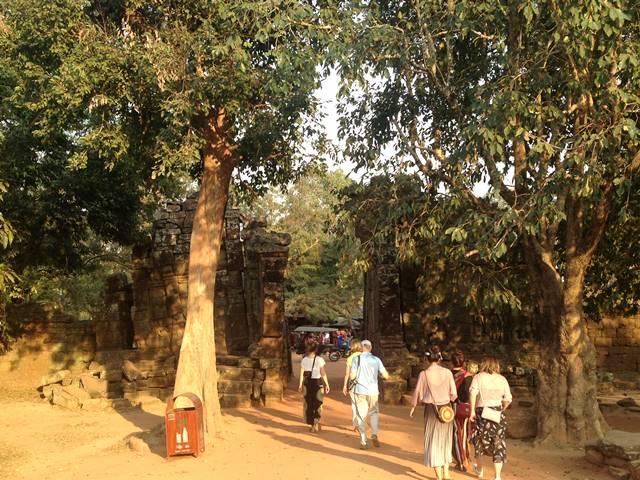 タ・プローム遺跡の東門