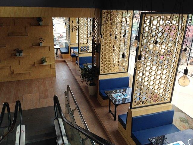 アジアプラザマーケット2階のレストラン