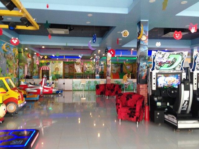 アジアプラザマーケット3階のゲームセンター