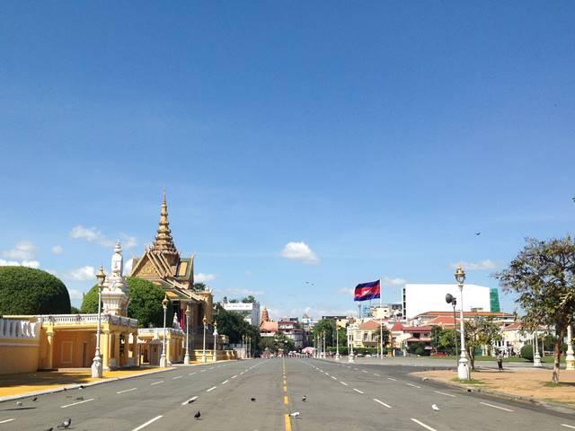 カンボジアの乾季
