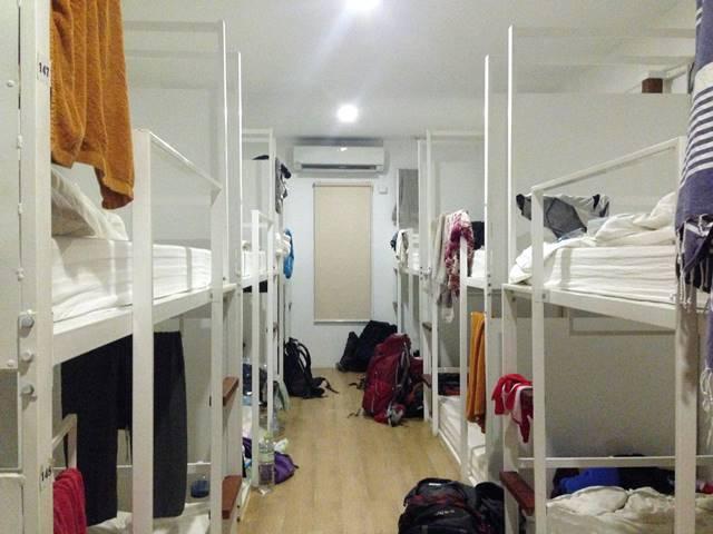 ゲストハウスに多いドミトリー部屋