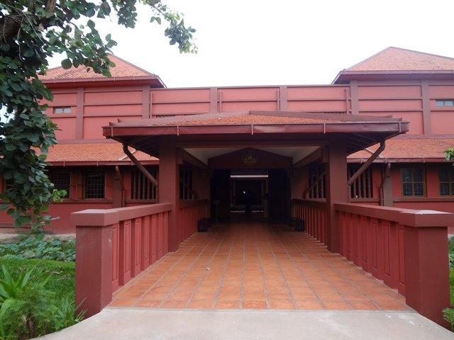 プリア・ノロドム・シハヌーク・アンコール博物館の入り口