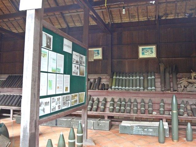 戦争博物館の展示パネル