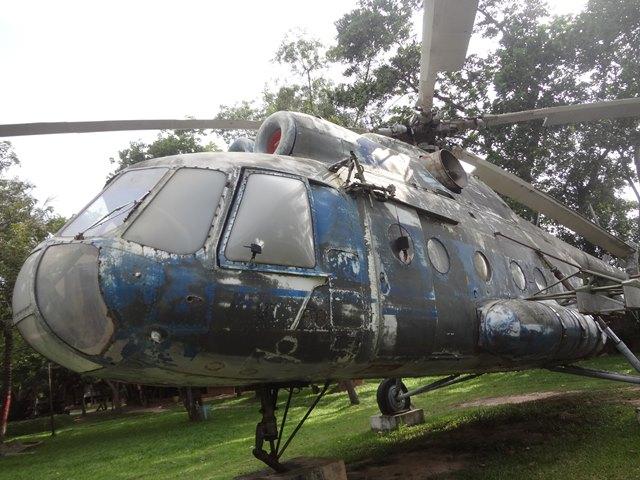戦争博物館の戦闘機