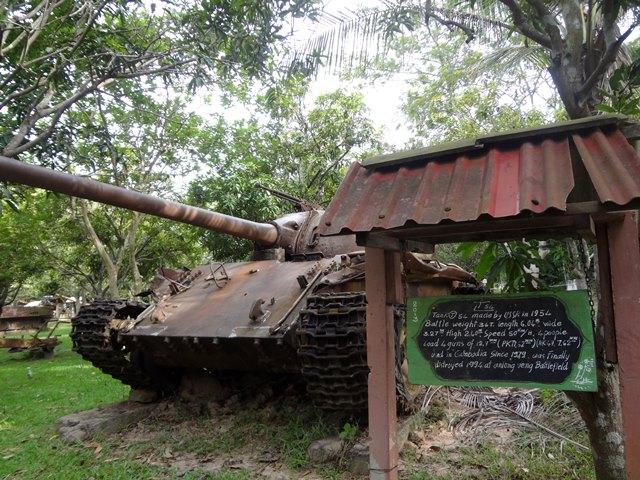 シェムリアップの戦争博物館