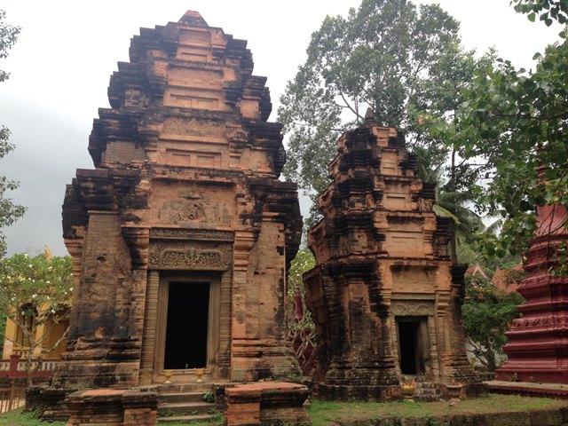 ワット・プレア・アン・コサイ寺院の遺跡のような祠堂