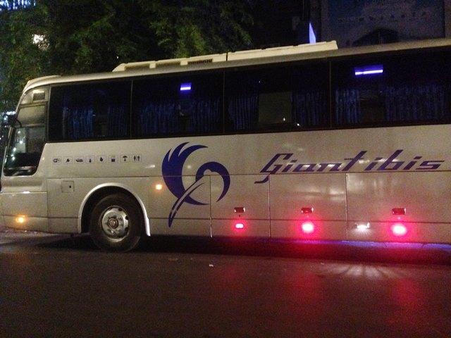 おススメのカンボジア陸路移動ジャイアントアイビス・バス