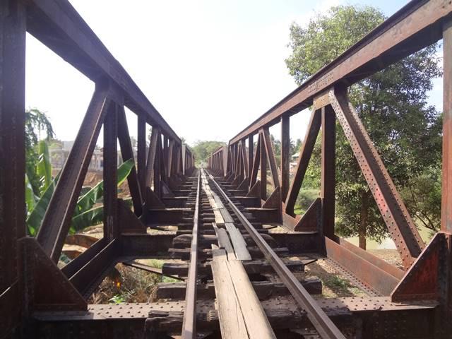 バッタンバンにあった橋