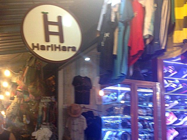 アンコールナイトマーケットにある日本人経営のお店ハリハラ