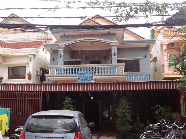 シェムリアップの老舗日本人宿タケオゲストハウス