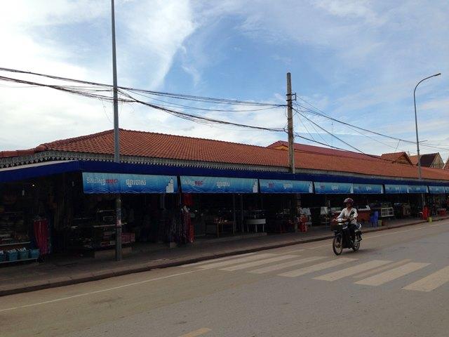 シェムリアップのオールドマーケット