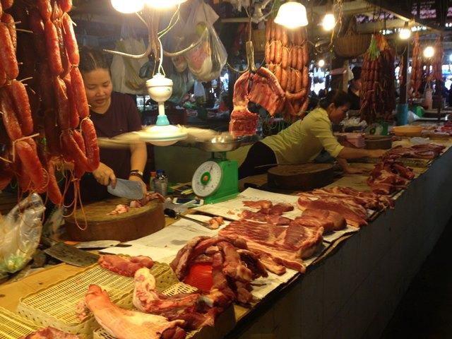 オールドマーケットの肉屋