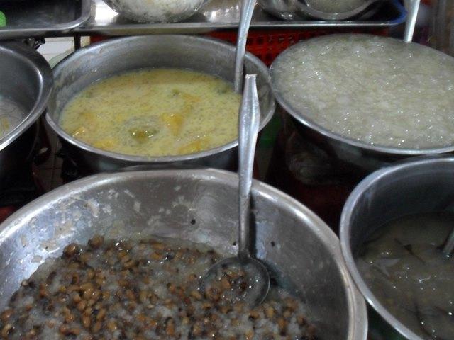 オールドマーケットのカンボジアのデザート・スイーツ