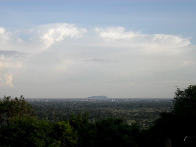 プノンバケンから見えるプノンクロム