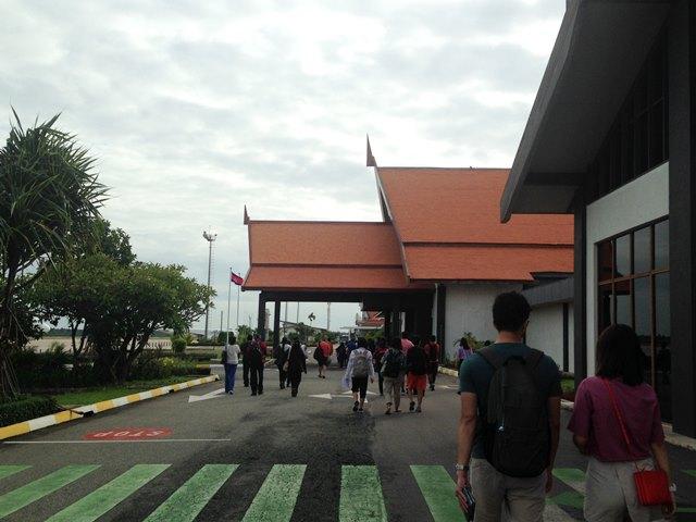 シェムリアップ空港の建物