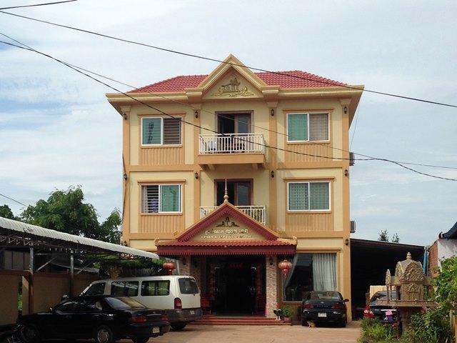 宿泊したホテル「Chhouk Tep Guest House」