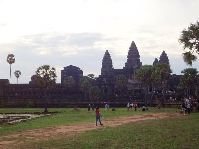 カンボジアのアンコール遺跡
