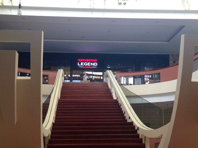 ヘリテージウォークの映画館「Legend Cinema」