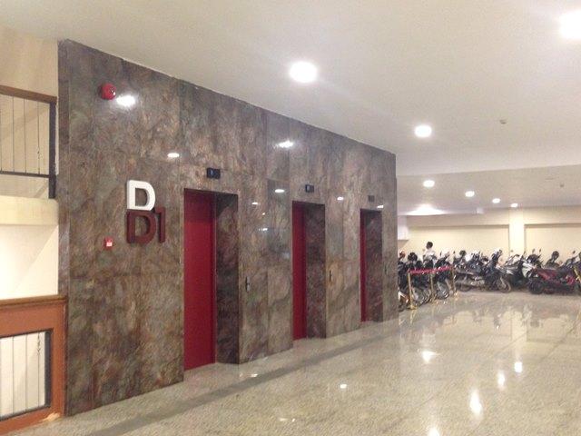 ヘリテージウォークのエレベーター