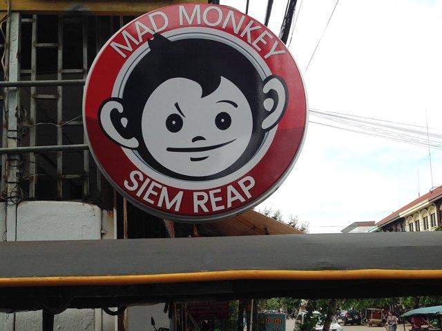 Mad Monkey Siem Reap 【マッドモンキー・ホステル】