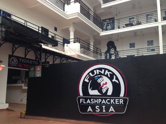 Funky Flashpacker【ファンキー・フラッシュパッカー】