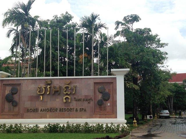 高級ホテルなのにリーズナブルな価格設定な【Borei Angkor Resort&Spa】ボレイ・アンコール