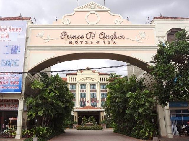 立地も抜群でリーズナブルな価格で宿泊できる高級ホテル【Prince D'Angkor Hotel & Spa】プリンス・ダンコール