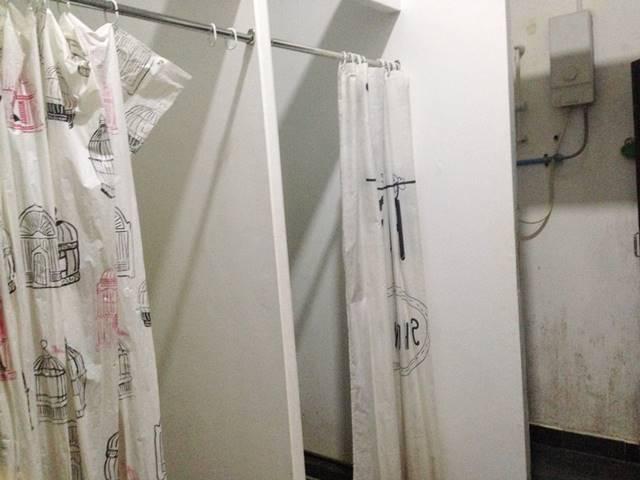 オープスホステルのバスルーム