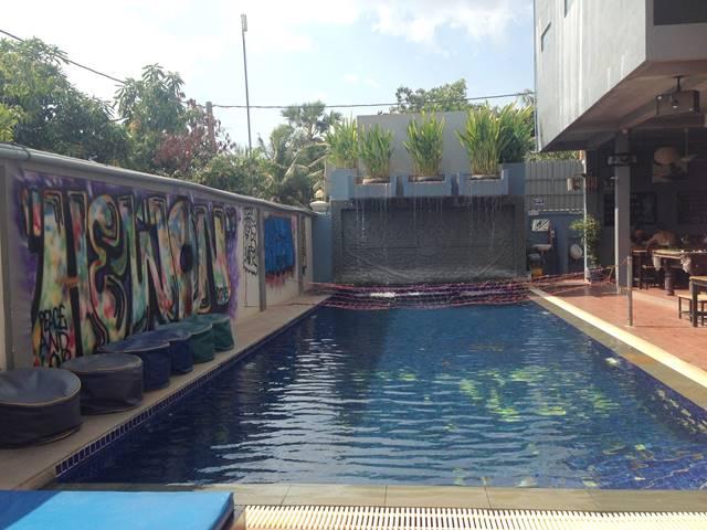 パブホステルのプール