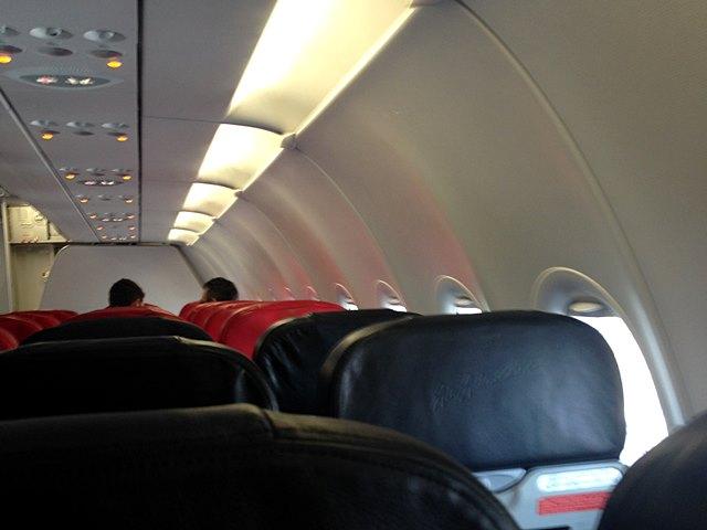 エアアジア機内の様子