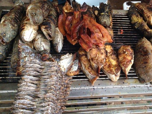 カンボジア料理⑨「焼き魚」
