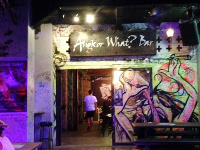 パブストリートのクラブ「アンコール・ワット・バー」