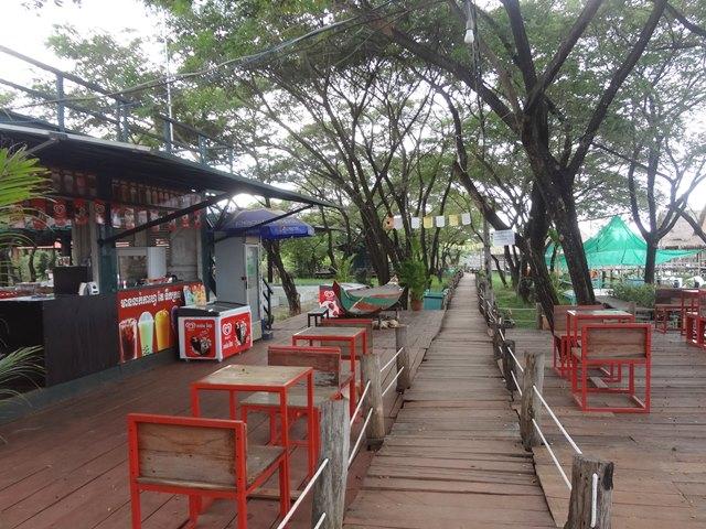 エコリゾートのレストラン