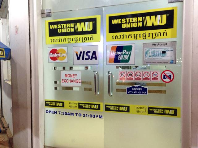 海外で無一文になったらウエスタンユニオンの国際送金サービス