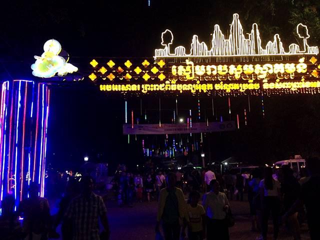 カンボジアの水祭り⑥