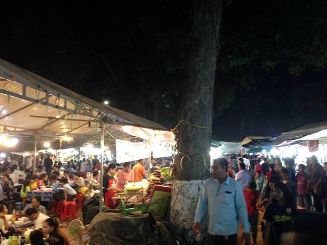 カンボジアの水祭り⑧