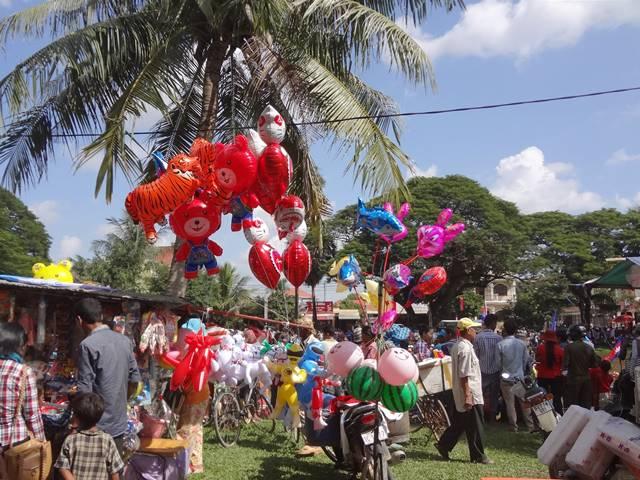 カンボジアの水祭り②