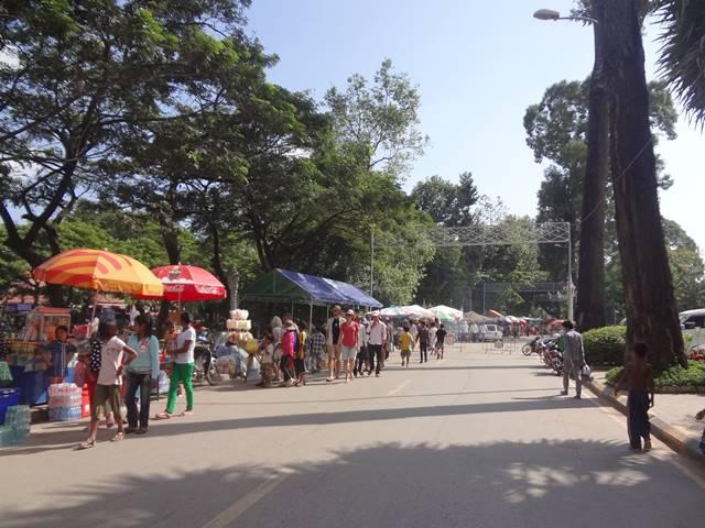 カンボジアの水祭り③
