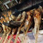 「西バライ」のハンモック・レストランで焼き鳥と水遊びを楽しもう!