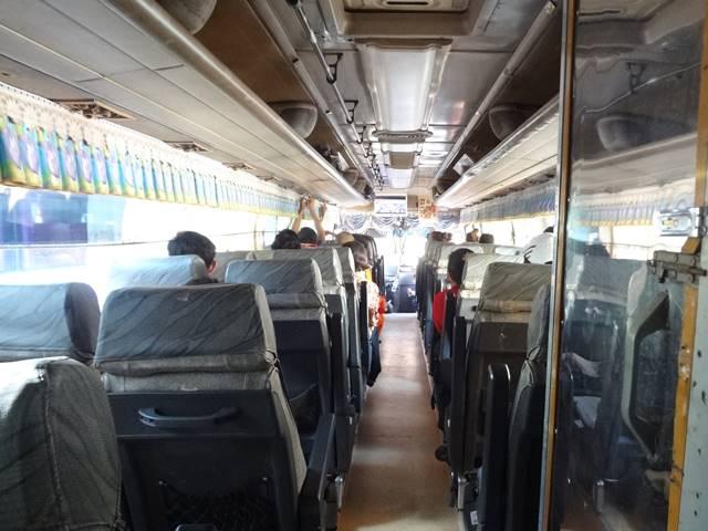 シェムリアップからホーチミン行きのバス