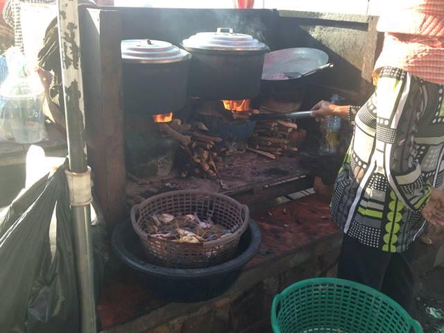 カニ市場の調理屋