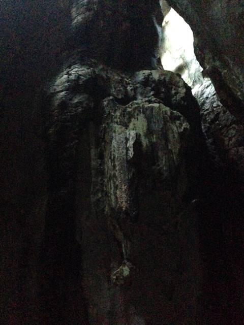 プノン・クバール・ロメアスのゾウの形の岩