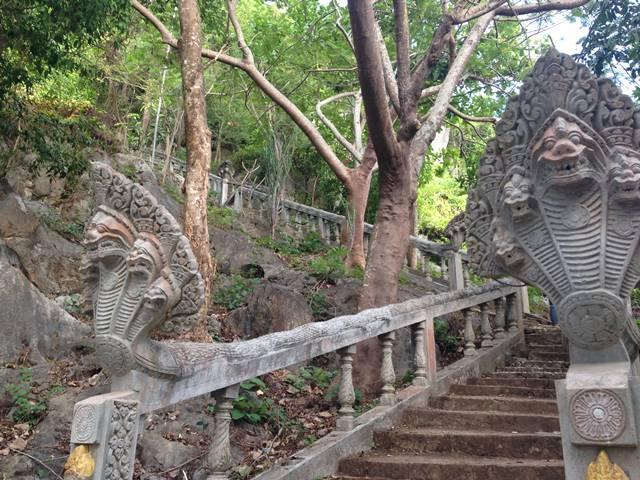 プノン・チュヌークの階段