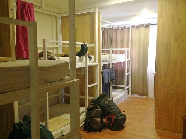 ワンストップ・ホステル・プノンペンのドミトリー部屋