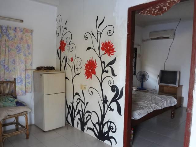 カンボジアの賃貸部屋
