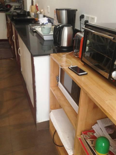 スラ・ブティック・ホステルのキッチン
