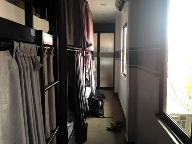 オーラ・シィーマティック・ホステルの部屋