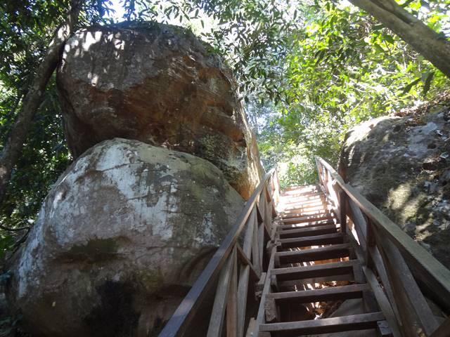 クバールスピアンの階段